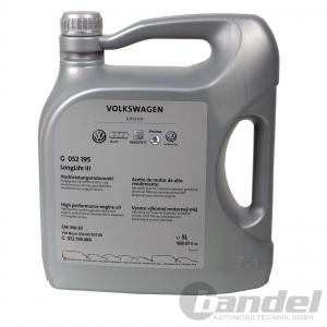 5 Liter ORIGINAL VW AUDI SEAT SKODA ÖL 5W-30 LONGLIFE 3 III 5W30