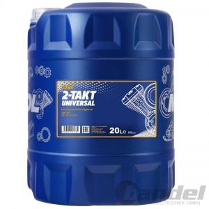20 Liter MANNOL 2-Takt UNIVERSALl MISCHÖL MINERALISCH / 2T ÖLl