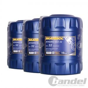 [2,05€/L] 3x 10 Liter HLP 32 Hydrauliköl/ Hydraulikflüssigkeit/ Hydraulikfluid