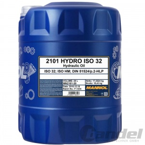 20 Liter HLP 32 Hydrauliköl/ Hydraulikflüssigkeit/ Hydraulikfluid