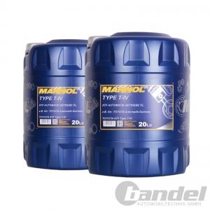 [3,40€/L] 2x 20 Liter Mannol ATF Type T-IV Automatik Getriebeöl für Toyota etc.