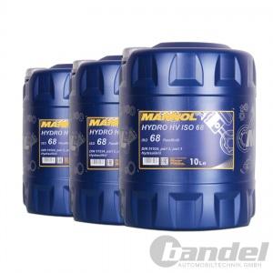 [2,78€/L] 3x10 Liter HLP ISO 68 Hydrauliköl Hydraulikflüssigkeit Hydraulikfluid