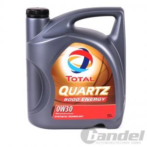 5 Liter Total Quartz 9000 Energy 0W-30 Motoröl VOLLSYNTHETISCH BMW VW