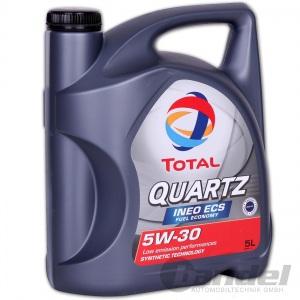 5 Liter Total Quartz Ineo ECS Fuel Economy 5W-30 MOTORÖL PEUGEOT