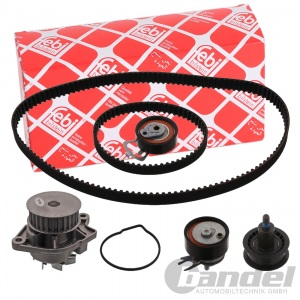 FEBI WASSERPUMPE + ZAHNRIEMENSATZ AUDI A2 VW CADDY III GOLF V VI + PLUS POLO