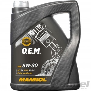 5L 5W30 MOTORÖL MANNOL O.E.M. 7707 FORD VOLVO SAE 5W-30