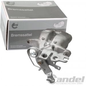 BREMSSATTEL HINTEN LINKS VW CADDY 3 III 2K Bj. 2004 - 2015