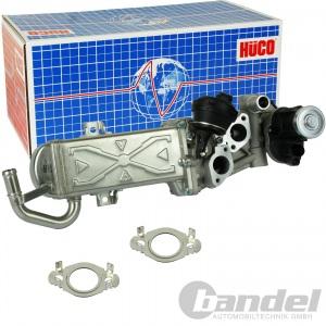 HITACHI/HÜCO AGR-VENTIL AUDI A3 Q3 VW CADDY 3+4 GOLF 6 POLO PASSAT 1.6/2.0 TDI