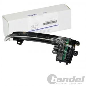 TYC BLINKLEUCHTE LED LINKS AUßENSPIEGEL AUDI A3 (8P) A4 + AVANT (B8) A5 (8T3)