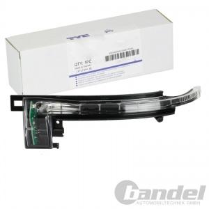 TYC BLINKLEUCHTE LED RECHTS AUßENSPIEGEL AUDI A3 (8P) A4 + AVANT (B8) A5 (8T3)