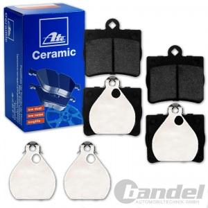 Beläge MERCEDES W202 C208 W210 R170 vorne ZIMMERMANN Bremsscheiben hinten