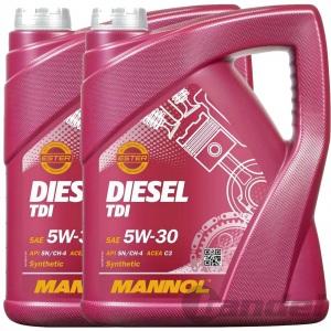 10 Liter 5W-30 MANNOL  DIESEL MOTORÖL TDI API SN/SM/CF