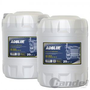 40 Liter AdBlue® MANNOL SCR HARNSTOFFLÖSUNG FÜR DIESEL ABGASREINIGUNG