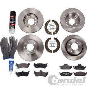 Hyundai i20 PB Zimmermann Bremsbeläge Bremsklötze Bremsen für hinten