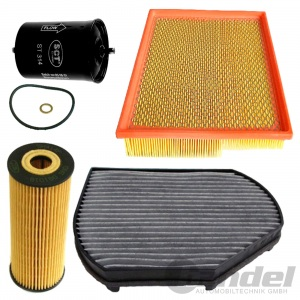 FILTER SET WARTUNGS PAKET MERCEDES C KLASSE W202 S202 CLK C208 S208 AB BJ 11.94