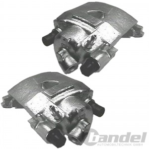 2x BREMSSATTEL VORNE LI/RE  VW CADDY 1 GOLF 1 2 3 JETTA 1 2 PASSAT POLO VENTO