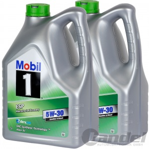 [7,69€/L] 10L MOBIL 1 ESP  5W30 MOTORÖL 154294 Mobil SHC Synthese Technologie