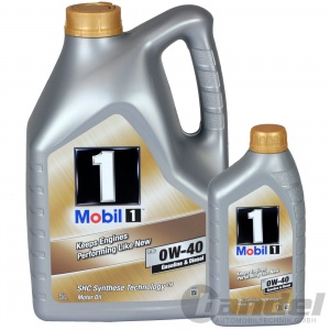 6L MOBIL 1 0W40 MOTORÖL ÖL SHC SYNTHESE TECHNOLOGY 153678