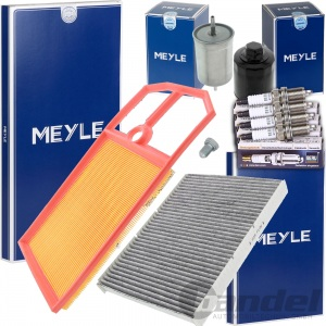 MEYLE FILTER SET INSPEKTIONS KIT VW GOLF IV BORA SKODA OCTAVIA 1.4 1.6 16V