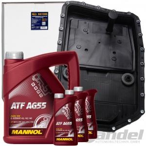 HYDRAULIKFILTER AUTOMATIKGETRIEBE ÖLWANNE+7L ATF AG55  BMW ZF 6HP19Z/21Z 6 GANG
