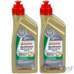 2L CASTROL SYNTRANS MULTIVEHICLE 75W90 GETRIEBEÖL 1502EE WSD-M2C200-C