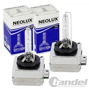 2x NEOLUX® by OSRAM D3S XENON LAMPE 35W 42V HAUPTSCHEINWERFER D3S-NX3S