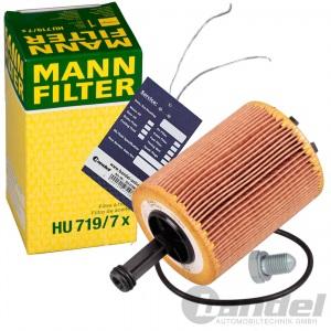 MANN ÖLFILTER FILTER 1.9+2.0 TDI AUDI A3 8P A4  B7 VW T5 PASSAT TOURAN GOLF 5 6