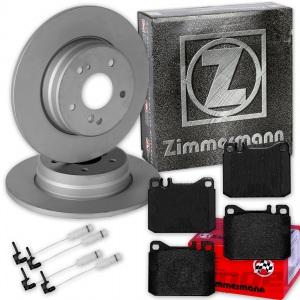 ZIMMERMANN BREMSSCHEIBEN + BELÄGE VORNE MERCEDES W123 C123 S123 Coupe Kombi T