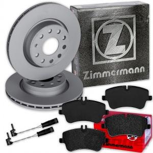 Bremsbeläge vorne 288mm Mercedes-Benz W203 S203 CL203 C209 R171 Bremsscheiben