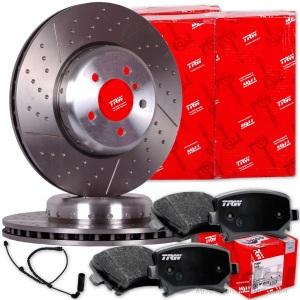 Bremsbeläge Vorne u.a Brembo2 Bremsscheiben Belüftet 330 mm für