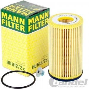 MANN ÖLFILTER+SCHRAUBE 1.2+1.4+1.6 OPEL ADAM ASTRA G H J CORSA C D E ZAFIRA B C