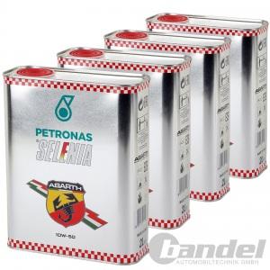 8L PETRONAS SELENIA ABARTH 10W-50 MOTORÖL ÖL 13133701 N0101