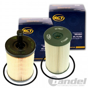 FILTER PAKET SET+5W30 MOTORÖL 1.9+2.0 TDI  VW TOURAN 1T1 2 PASSAT 3C CADDY III Pic:3