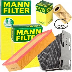 MANN FILTERSET INSPEKTIONSPAKET 1.6/2.0TDI AUDI A3 TT VW GOLF 5+6 PASSAT TOURAN