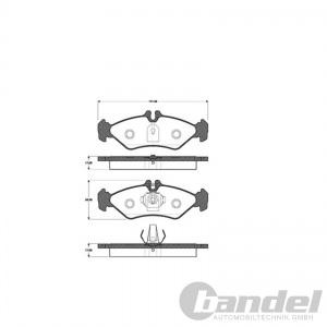 bremsscheiben bel ge wk bremsbacken vorne hinten vw. Black Bedroom Furniture Sets. Home Design Ideas