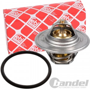FEBI THERMOSTAT KÜHLMITTEL AUDI A3 A4 (B5) A6 (C4/C5) VW GOLF 4+5 T5 1.6-2.0