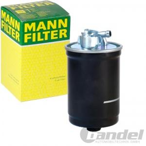 MANN DIESELFILTER WK842/21X AUDI A4(8EC 8ED 8H7) A6(4F2 4F5) 2.0TDI(QUATTRO/16V)