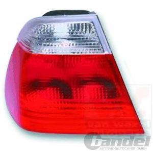 RÜCKLEUCHTE LINKS BMW 3er E46 STUFENHECK BIS BJ 09/2001 BLINKER FARBE WEIß
