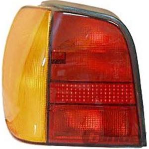 RÜCKLEUCHTE RECHTS VW POLO 6N1 10/1994-10/1999 BLINKER FARBE GELB