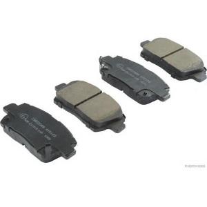 ASHUKI Bremsbelagsatz Scheibenbremse  Hinterachse Hinten für Toyota MR 2 III
