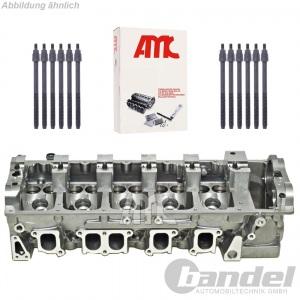 AMC ZYLINDERKOPF vormontiert + SCHRAUBEN VW T5 TOUAREG 7L 2.5 TDI
