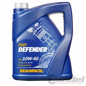 5 Liter SAE 10W-40 Motoröl für VW, Audi, Skoda, Seat, Mercedes, BMW