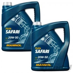10 Liter SAE 20W-50 Motoröl/Öl mineralisch für API SL/CH-4