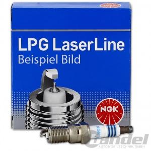 4x NGK LPG2 ZÜNDKERZE  für LPG / CNG GASBETRIEB LaserLine VW JETTA 2 POLO VENTO
