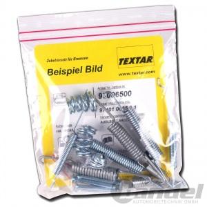 TEXTAR MONTAGE-SATZ für  Feststellbremsbacken HINTEN   97008400  Opel