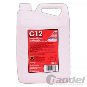 [4,38€/L] ALPINE KÜHLERFROSTSCHUTZ C12 KONZENTRAT ROT 5L / Antifreeze G12