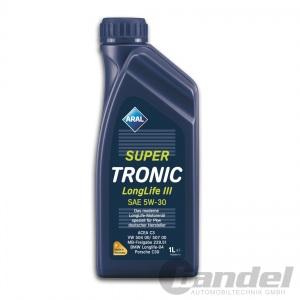 [7,90€/L] 1 Liter 5W-30 ARAL SuperTronic LongLife 3 III Motoröl VW 507.00 504.00