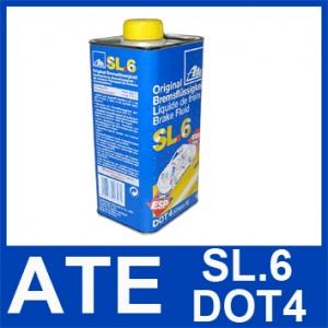 1 Liter ATE SL.6 DOT 4 BREMSFLÜSSIGKEIT 1000ml DOT4 03.9901-