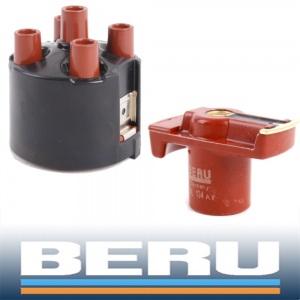 BERU Verteilerkappe+Verteilerfinger AUDI 80 100 A4 A6 VW CADDY II GOLF II III IV