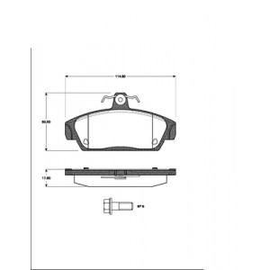 2 BREMSSCHEIBEN 240,5mm belüftet + BREMSBELÄGE VORNE MG TF MGF MG F ROVER 100 Pic:2